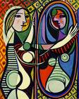 """One of my favorite paintings: """"Girl Before a Mirror"""""""